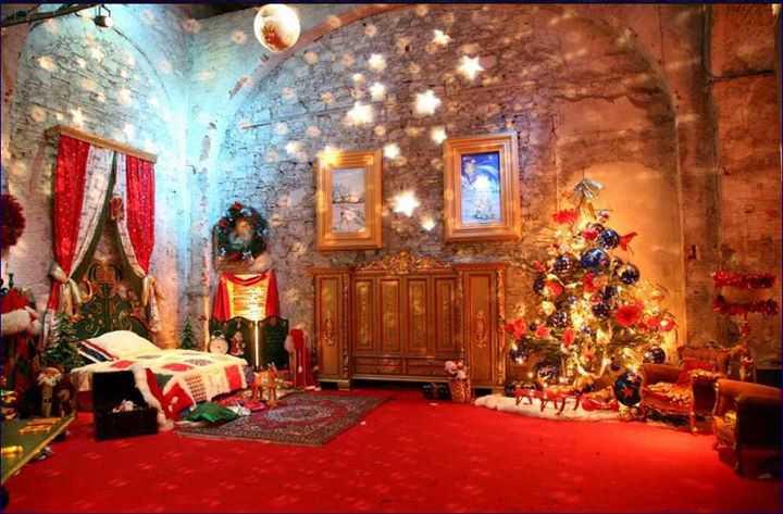 Parco Di Babbo Natale.Casa Di Babbo Natale Quest Anno Al Castello Di Lunghezza
