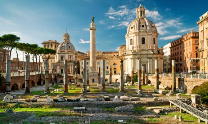 area archeologica fori imperiali roma