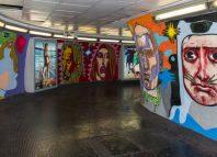 street art metro roma