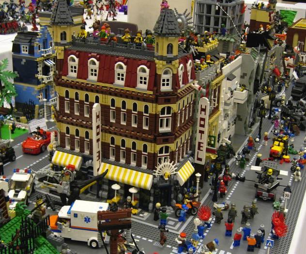 roma city lego