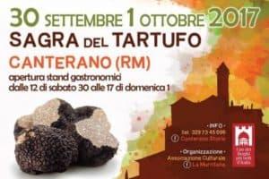 sagra del tartufo roma canterano