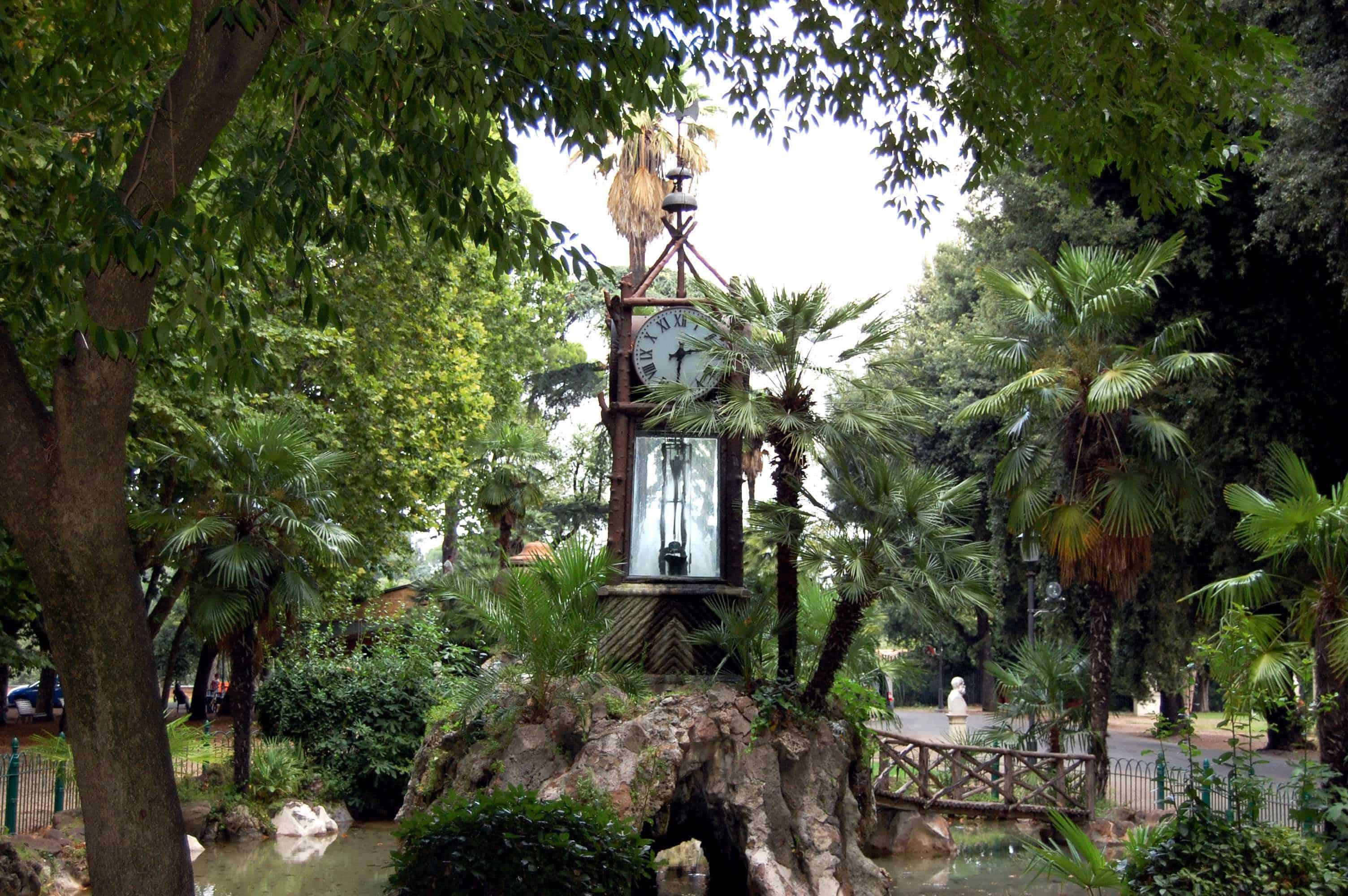 Roma la storia del magico orologio ad acqua del pincio
