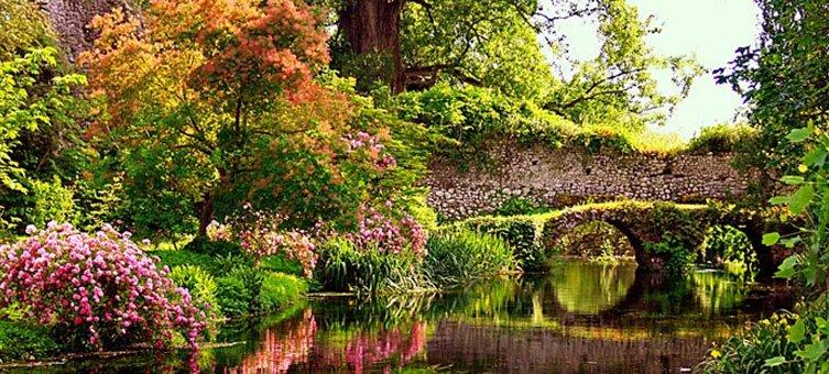 I giardini di ninfa apertura. strumenti per la didattica e la ricerca