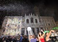 Miracolo della neve a Roma