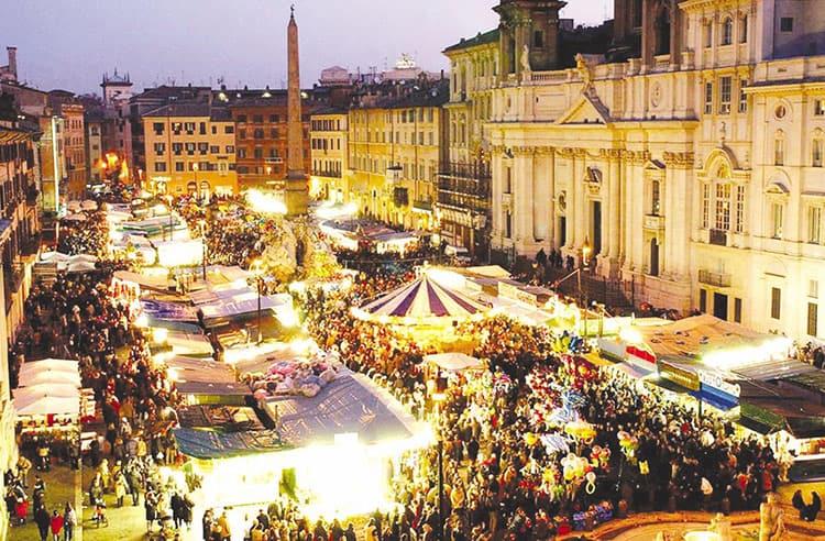 Foto Di Roma A Natale.Roma Torna La Magia Del Mercatino Di Natale A Piazza Navona