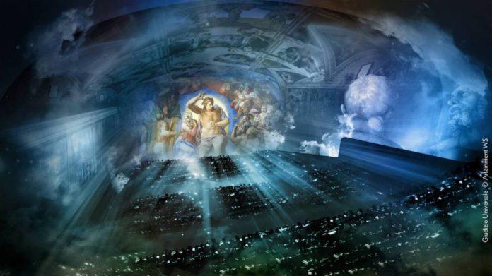 """""""Giudizio Universale. The Sistine Chapel Immersive Show"""""""