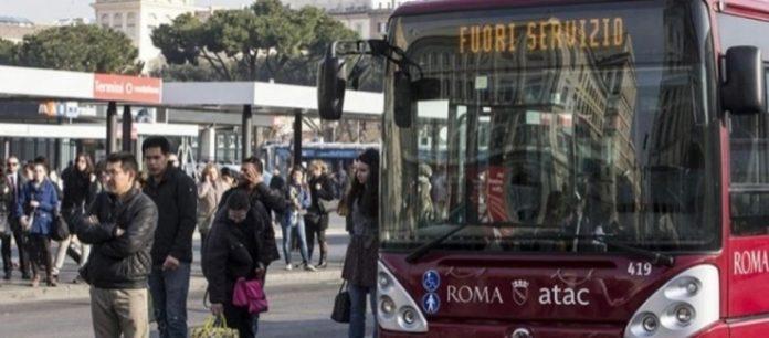 roma sciopero dei mezzi 24 ore