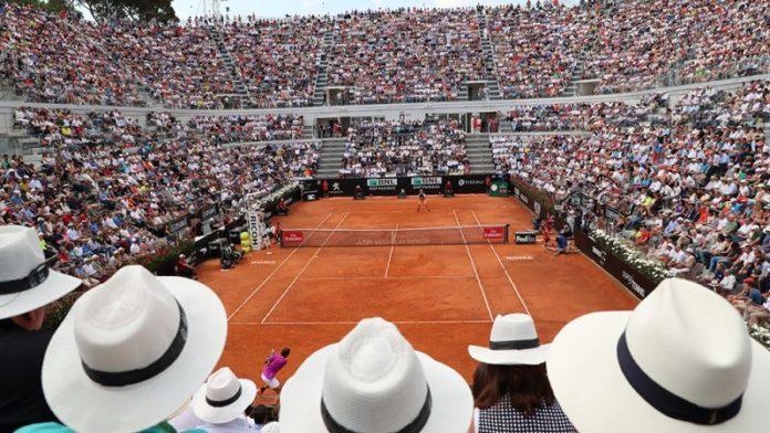 tennis roma internazionali d'italia bnl roma
