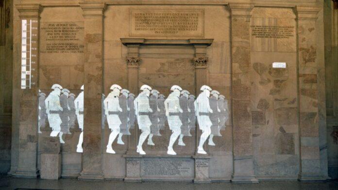 ARTE: inaugurata ai Musei Capitolini l'esibizione multimediale