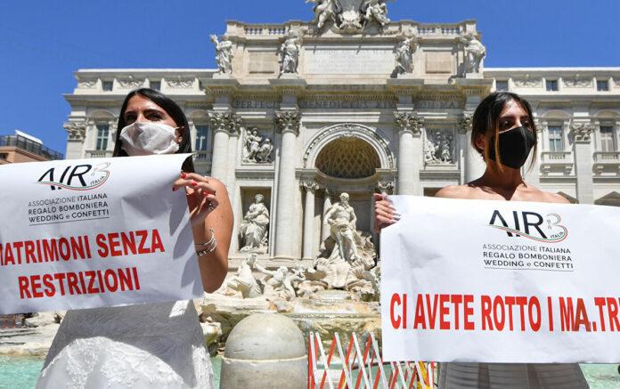proteste roma spose settore wedding